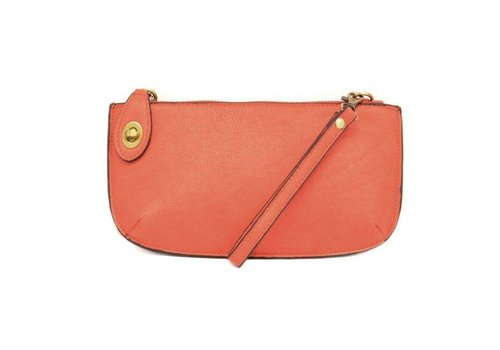 Orange Crossbody Clutch