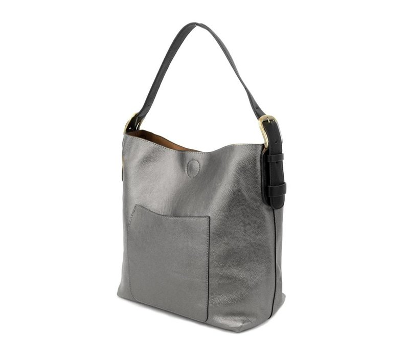 Pewter Hobo Bag