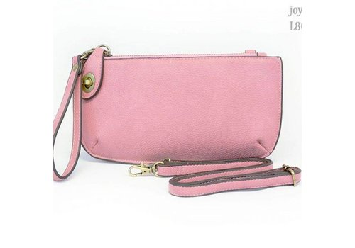 Blush Crossbody Clutch