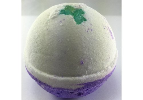 Lavender and Mint Bath Bomb