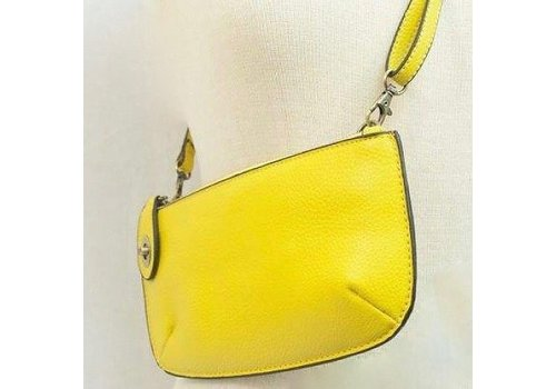 Yellow Crossbody Clutch