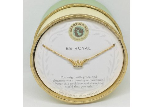 SPARTINA Be Royal/Crown Sea La Vie Necklace