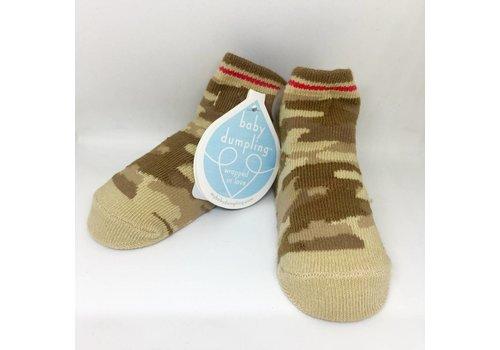 Baby Dumpling Camo Socks
