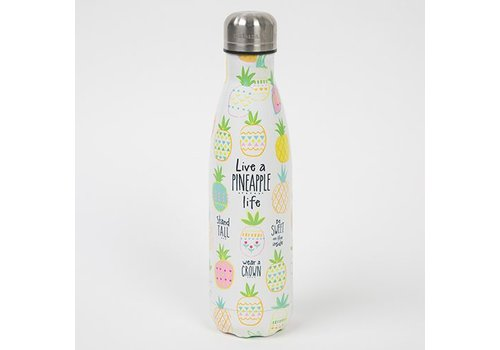 natural life Pineapple Life Water Bottle
