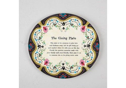 natural life Melamine Giving Plate