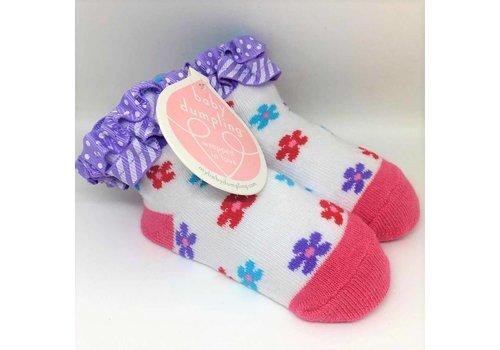 Baby Dumpling Little Flowers Socks