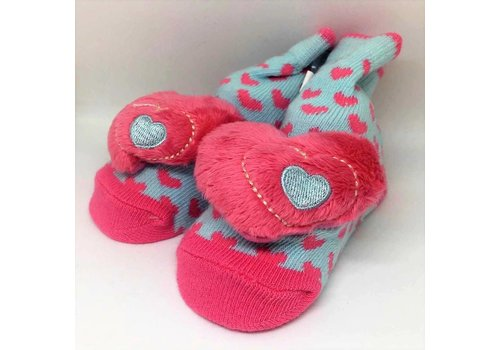 Baby Dumpling Heart Socks
