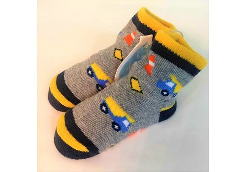Baby Dumpling Construction Socks