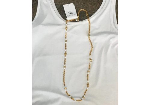 Gold Beaded Necklace