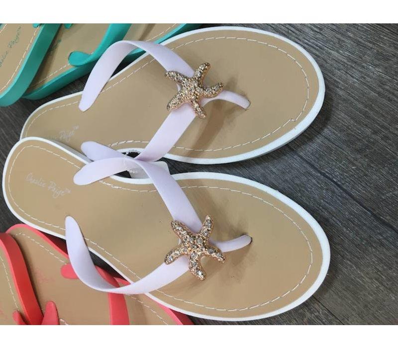 9e1c872c1b57 Bling Starfish Flip-Flop Sandals - Firefly   Lilies