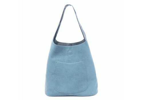 Chambray Slouchy Hobo