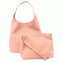 Molly Slouchy Hobo - Rosewater