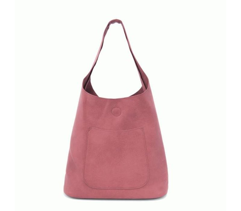 Molly Slouchy Hobo - Raspberry