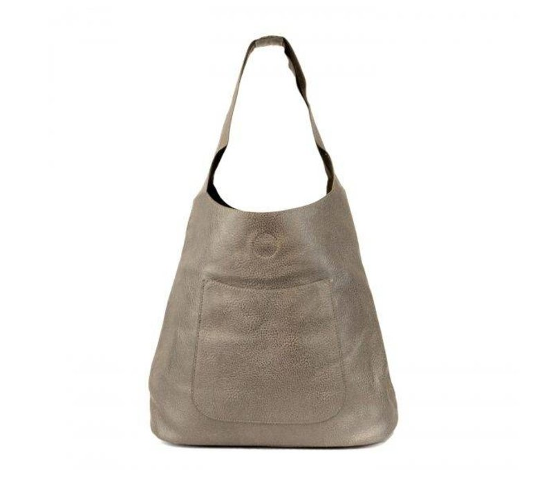 Molly Slouchy Hobo - Pewter