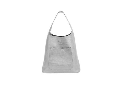 Molly Slouchy Hobo - Metallic Silver