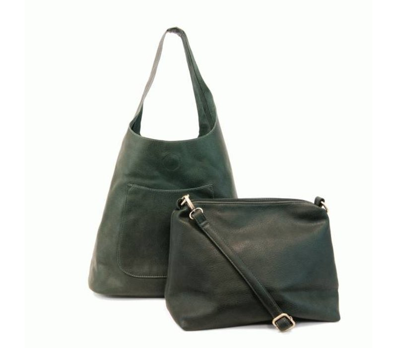 Molly Slouchy Hobo - Loden Green