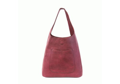 Molly Slouchy Hobo - Dark Raspberry