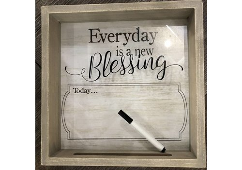 Blessing Dry Erase Sign