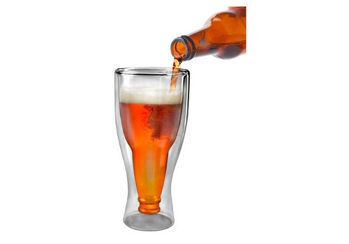 Hopside Down Beer Glass - 12 oz