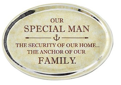 Special Man Paperweight