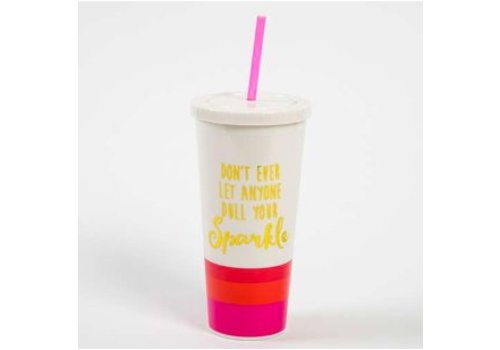 "natural life ""Don't ever let anyone dull your sparkle."" Travel Cup"