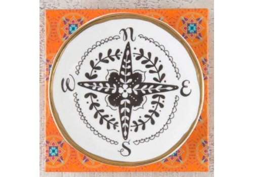 natural life Compass Trinket Dish