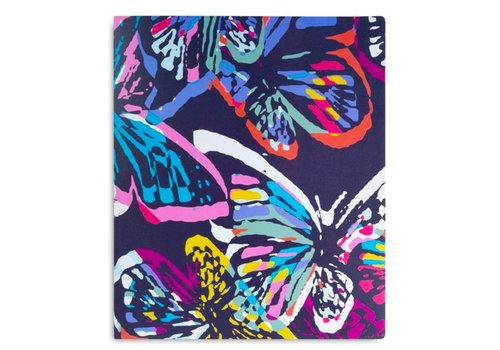 3 Ring Binder, Butterfly Flutter