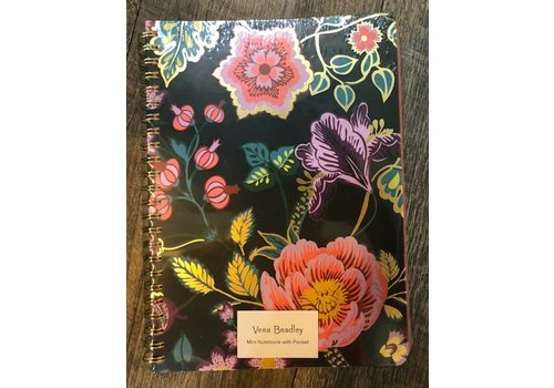 Mini Notebook, Vines Floral