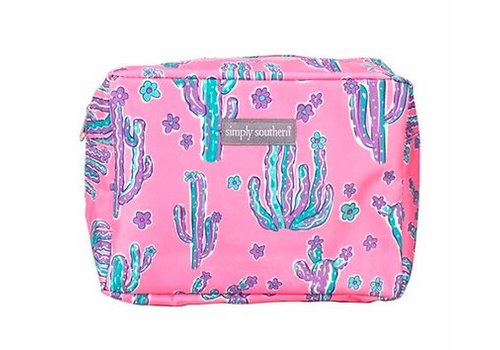 SIMPLY SOUTHERN Simply Southern Cactus Cosmetic Bag