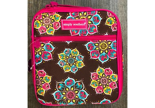 SIMPLY SOUTHERN Simply Southern Mandala Lunch Bag