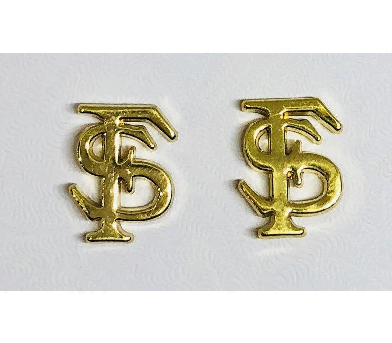 FSU Logo Stud Earrings