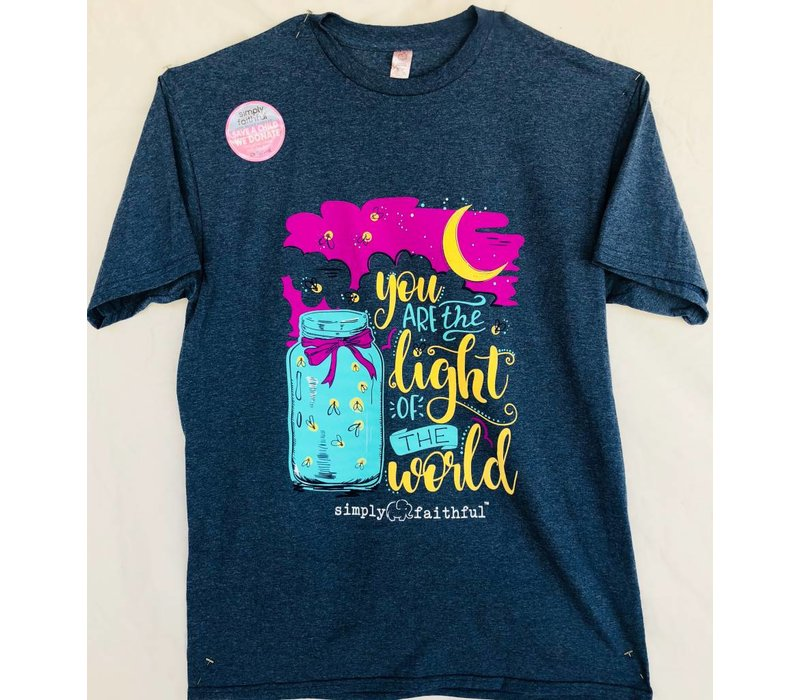 Simply Faithful - You are the Light of the World T-shirt