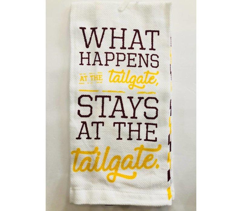 Collegiate Football Fan Tea Towel - assorted