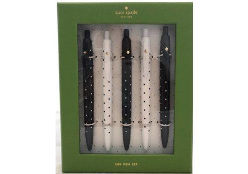 Kate Spade Dot Pen Set