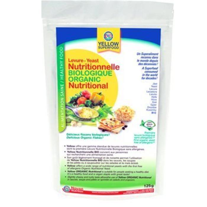 Levure nutritionnelle Bio 125g