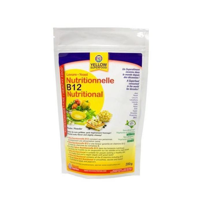 Levure nutritionnelle B12 poudre 200g