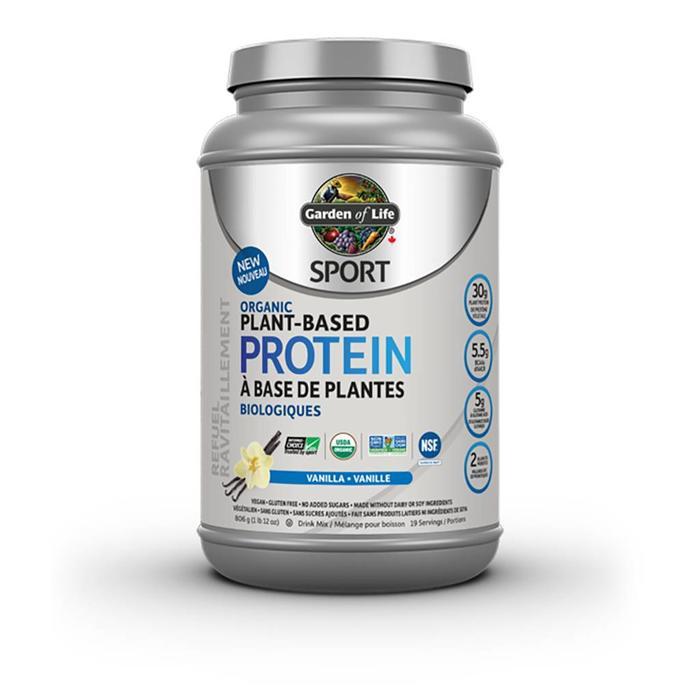 Protéines Sport de plantes biologiques