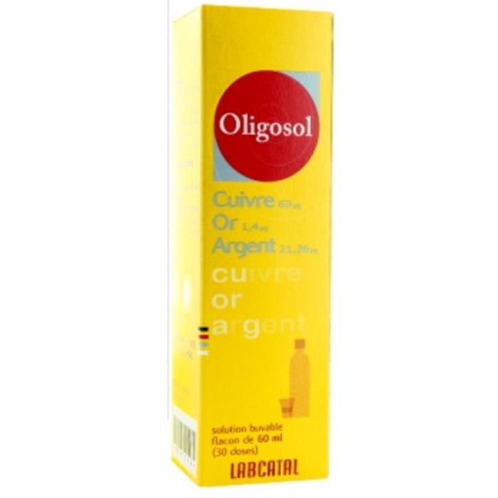 Oligosol Cuivre-or-argent 60 ml