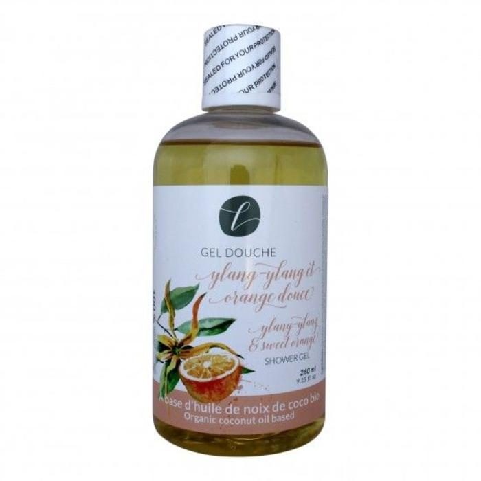 Gel douche ylang ylang et orange douce