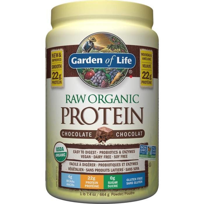 Protéines crues bio