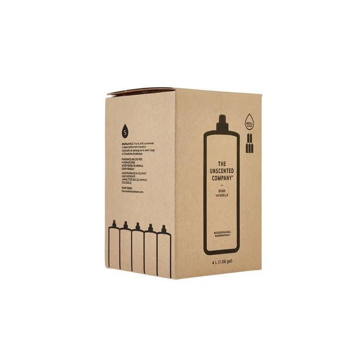 Liquide a vaisselle sans fragrance  - Recharge 4L