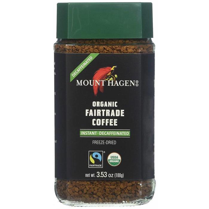 Café instantané décaféiné bio 100g