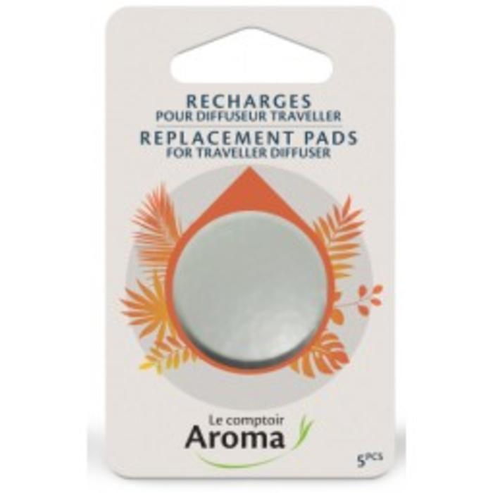 Recharges (5) diffuseur traveller