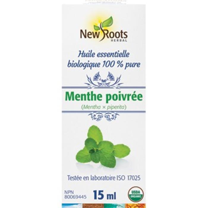 Huile essentielle bio Menthe poivree15ml