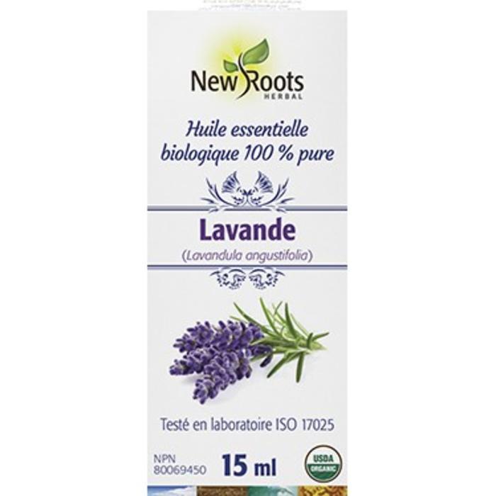 Huile essentielle bio Lavande (Lavandula angustifolia) 15ml