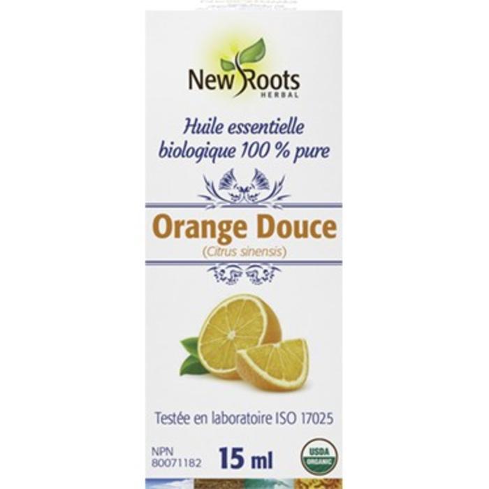 Huile essentielle bio Orange douce (citrus x sinensis) 15ml