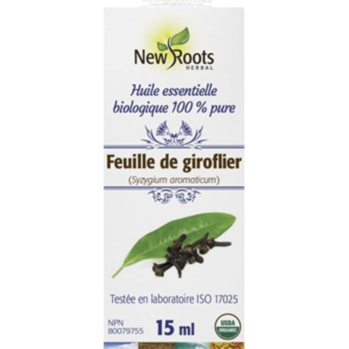 Huile essentielle feuille de girofle bio (syzygium aromaticum) 15ml