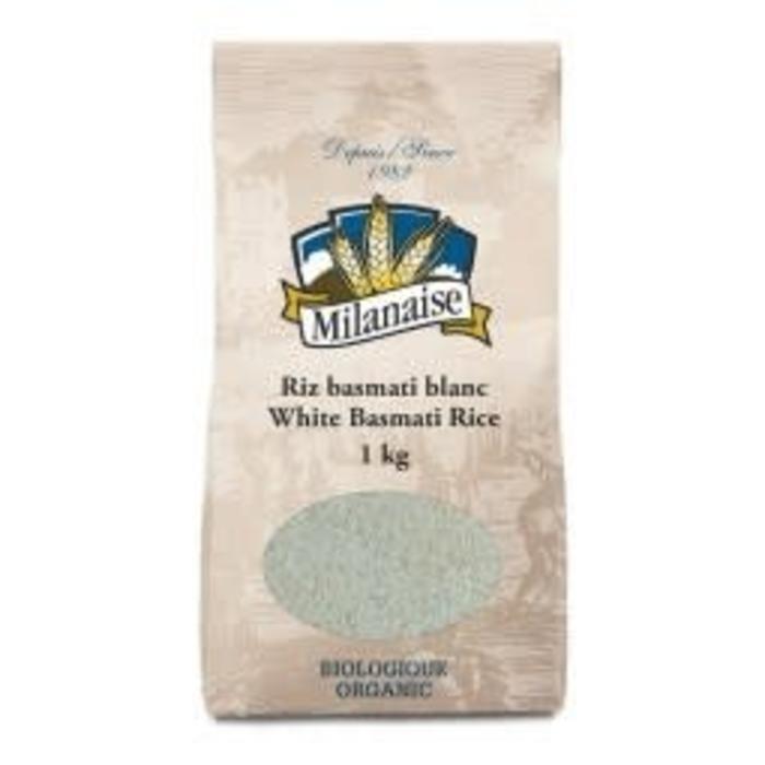 Riz basmati blanc bio 1kg