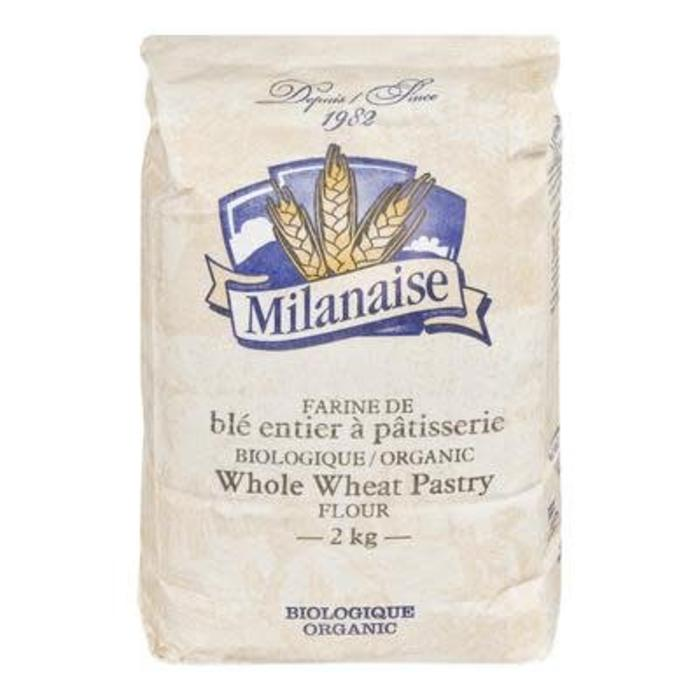 Farine de blé entier à pâtisserie bio 2kg