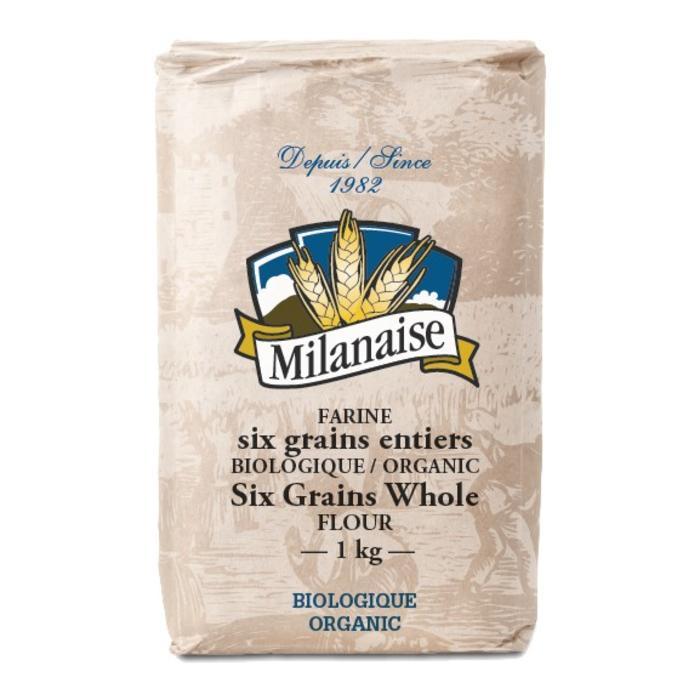 Farine de 6 grains bio 1kg